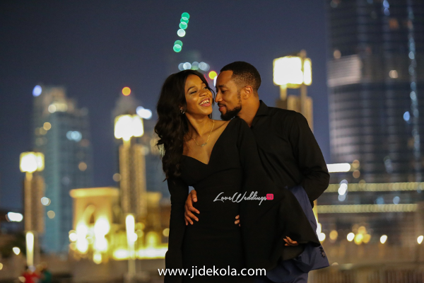 Dubai PreWedding Shoot Burj Khalifa Frankeen2016 Jide Kola LoveweddingsNG 2