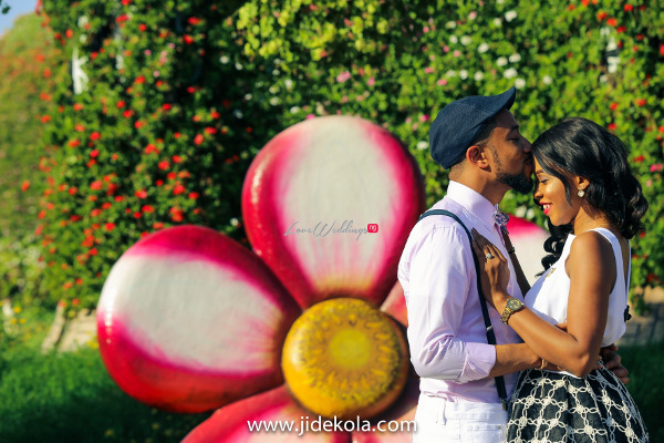 Dubai PreWedding Shoot Love Garden Frankeen2016 Jide Kola LoveweddingsNG 1