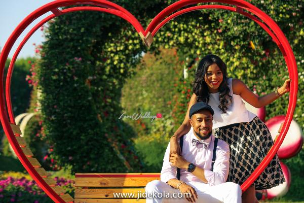 Dubai PreWedding Shoot Love Garden Frankeen2016 Jide Kola LoveweddingsNG 2