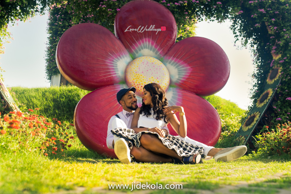 Dubai PreWedding Shoot Love Garden Frankeen2016 Jide Kola LoveweddingsNG