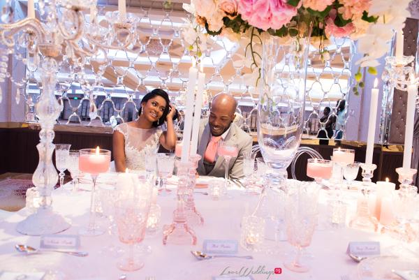 Forever Blush Styled Shoot Cristal Olivier Weddings Bride and Groom LoveweddingsNG 5