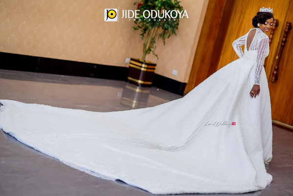 Kunbi Oyelese April by Kunbi Bridal Gown LoveweddingsNG 1