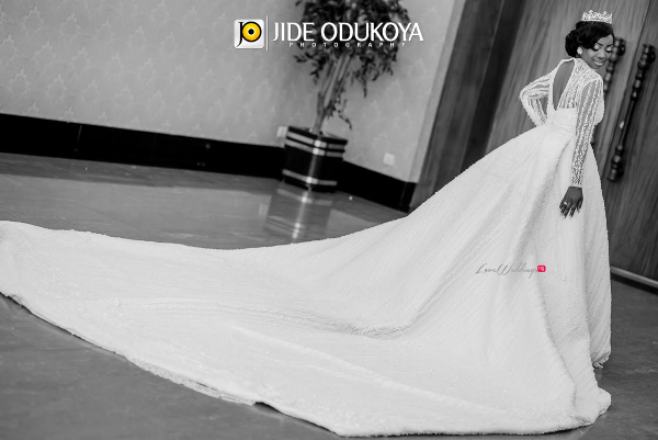 Kunbi Oyelese April by Kunbi Bridal Gown LoveweddingsNG