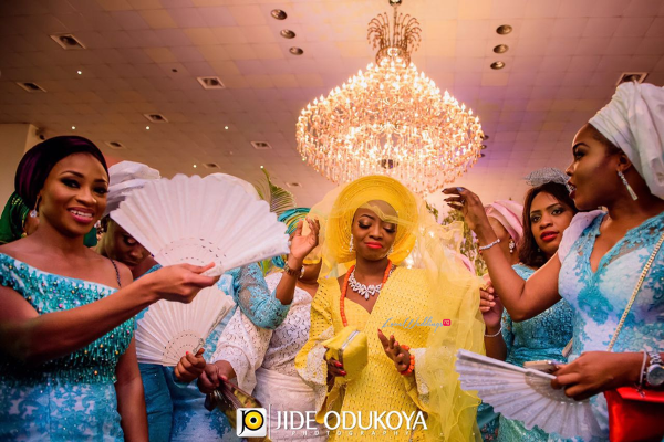 Kunbi Oyelese Lanre Tomori Traditional Wedding LoveweddingsNG 4