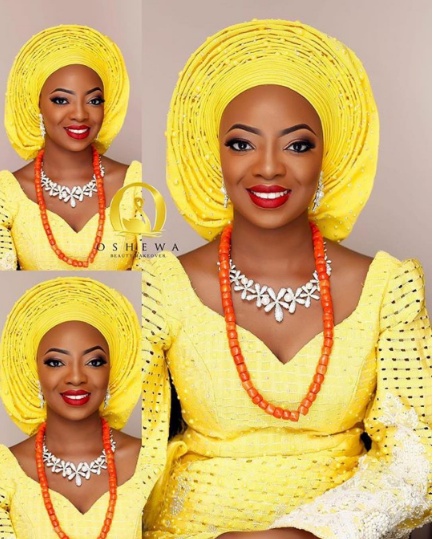 Kunbi Oyelese Lanre Tomori Traditional Wedding LoveweddingsNG 7