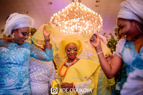 Kunbi Oyelese Lanre Tomori Traditional Wedding LoveweddingsNG