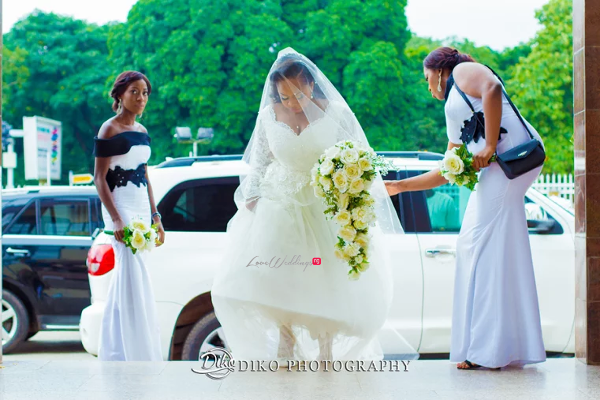 Nigerian Bride and Bridesmaids Judith & Kingsley Diko Photography LoveweddingsNG 1