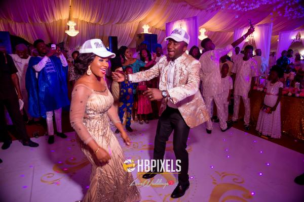 Nigerian Bride and Groom Dance Snapbacks Dami and Tobi HB Pixels LoveweddingsNG