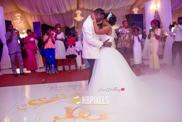 Nigerian Bride and Groom First Dance Dami and Tobi HB Pixels LoveweddingsNG 1