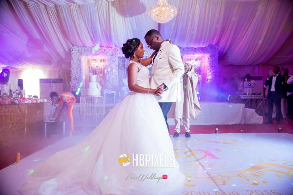 Nigerian Bride and Groom First Dance Dami and Tobi HB Pixels LoveweddingsNG 2
