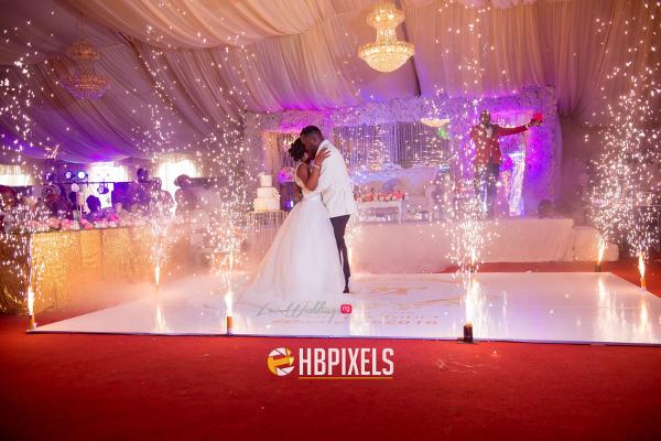 Nigerian Bride and Groom First Dance Dami and Tobi HB Pixels LoveweddingsNG 3