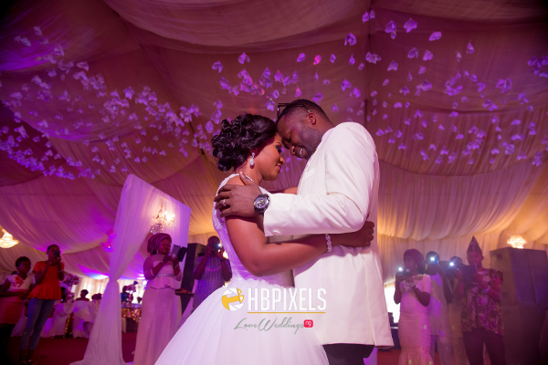 Nigerian Bride and Groom First Dance Dami and Tobi HB Pixels LoveweddingsNG 4