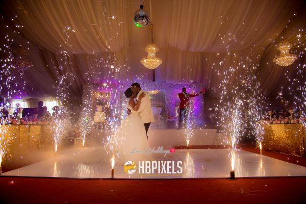 Nigerian Bride and Groom First Dance Dami and Tobi HB Pixels LoveweddingsNG