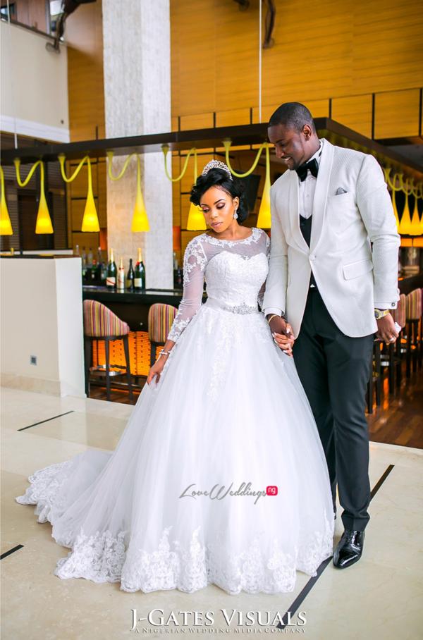 Nigerian Bride and Groom Odera & Daniel Trendybee Events LoveweddingsNG