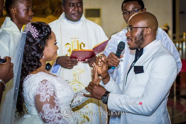 Nigerian Bride and Groom Rings Judith & Kingsley Diko Photography LoveweddingsNG