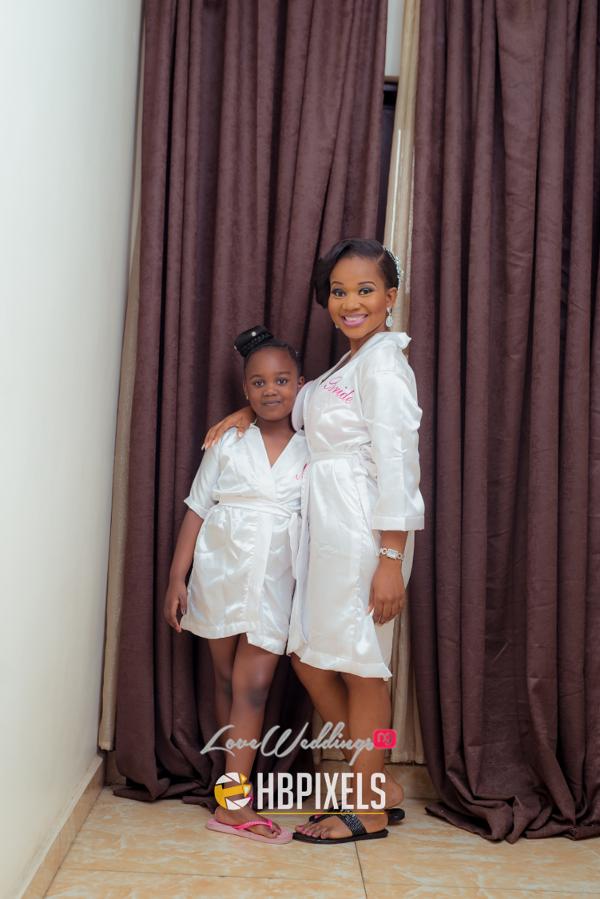 Nigerian Bride and Little Bride Dami and Tobi HB Pixels LoveweddingsNG 2