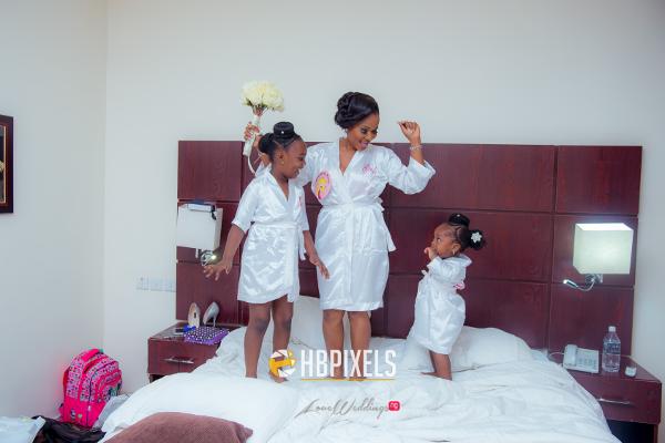 Nigerian Bride and Little Bride Dami and Tobi HB Pixels LoveweddingsNG