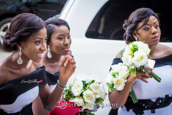 Nigerian Bridesmaids Judith & Kingsley Diko Photography LoveweddingsNG
