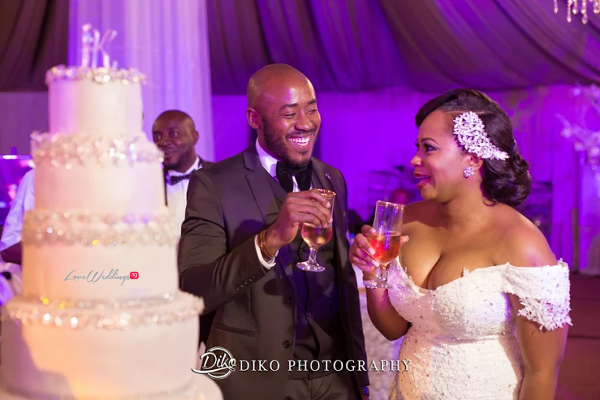 Nigerian Couple Toast Judith & Kingsley Diko Photography LoveweddingsNG