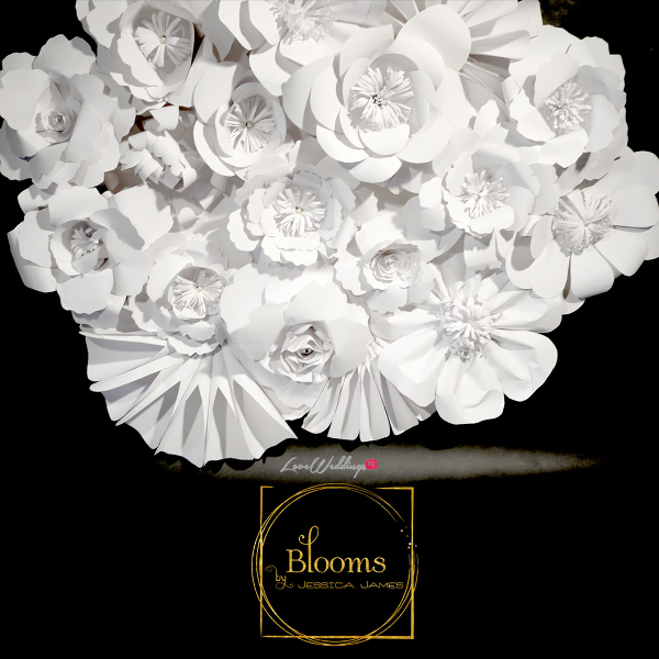 Nigerian Paper Flowers Blooms by Jessica James LoveweddingsNG 1