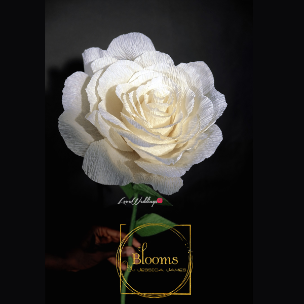 Nigerian Paper Flowers Blooms by Jessica James LoveweddingsNG 11