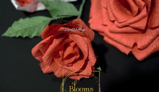 Nigerian Paper Flowers Blooms by Jessica James LoveweddingsNG 12