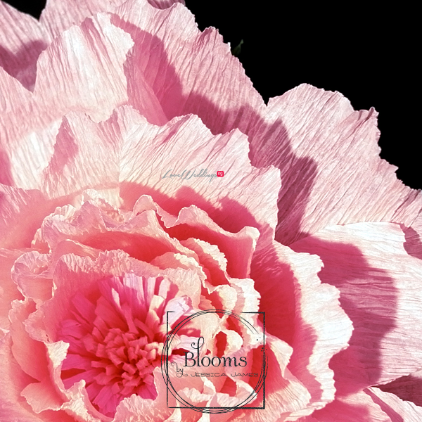 Nigerian Paper Flowers Blooms by Jessica James LoveweddingsNG 14