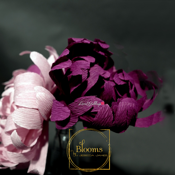Nigerian Paper Flowers Blooms by Jessica James LoveweddingsNG 5