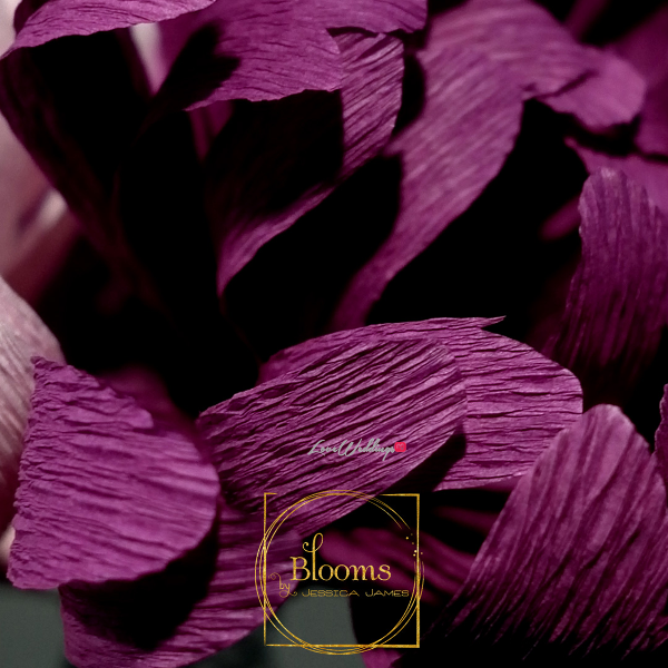 Nigerian Paper Flowers Blooms by Jessica James LoveweddingsNG 6