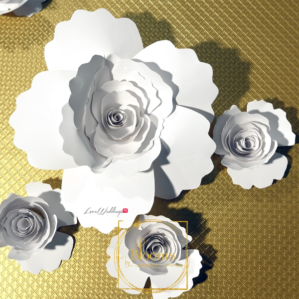 Nigerian Paper Flowers Blooms by Jessica James LoveweddingsNG 7