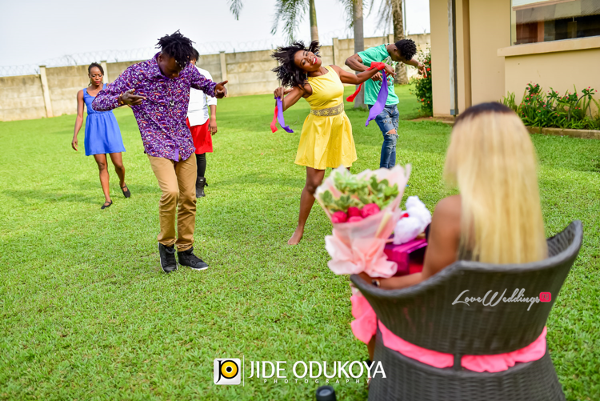Nigerian Proposals Ejike and Mabel Flash Mob LoveBugs Proposals LoveweddingsNG 1