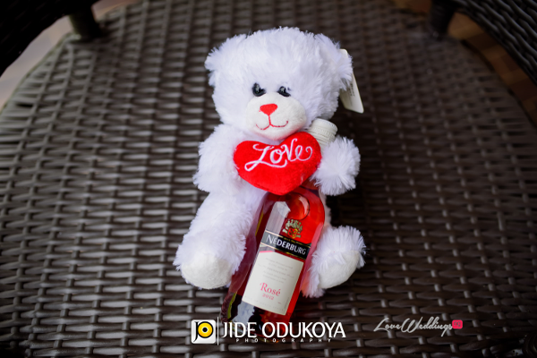 Nigerian Proposals Teddy and Wine LoveBugs Proposals LoveweddingsNG