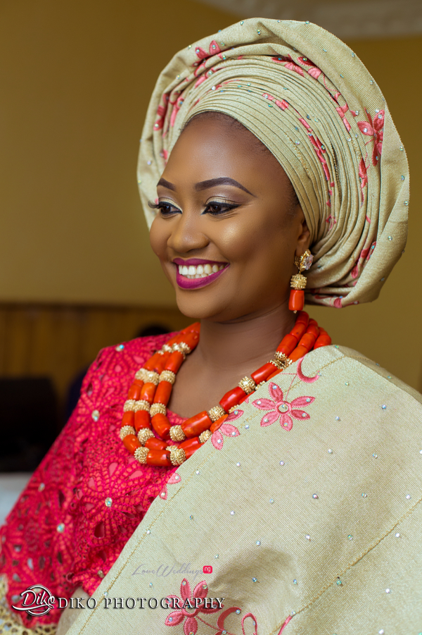 Nigerian Traditional Bride Adefunke & Adebola Diko Photography LoveweddingsNG 3