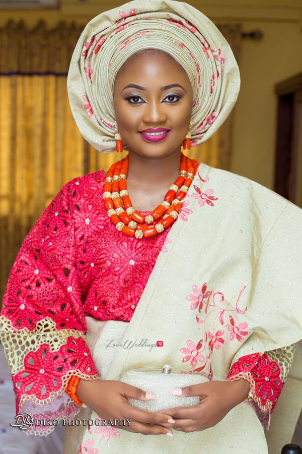 Nigerian Traditional Bride Adefunke & Adebola Diko Photography LoveweddingsNG