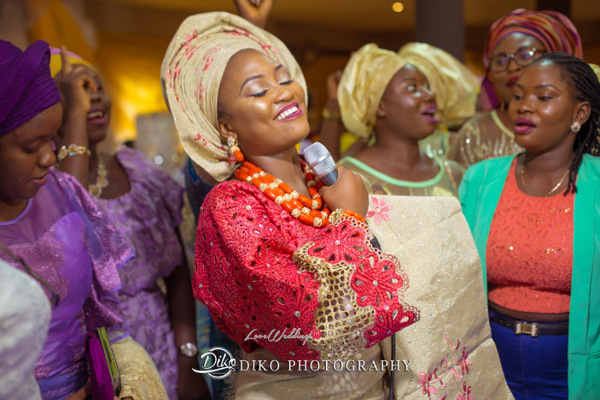 Nigerian Traditional Bride Happy Adefunke & Adebola Diko Photography LoveweddingsNG