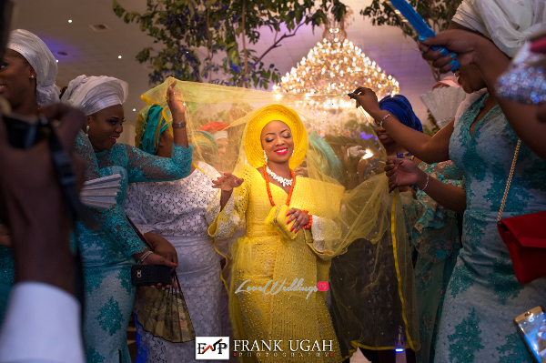 Nigerian Traditional Bride Shoki Kunbi Oyelese LoveweddingsNG