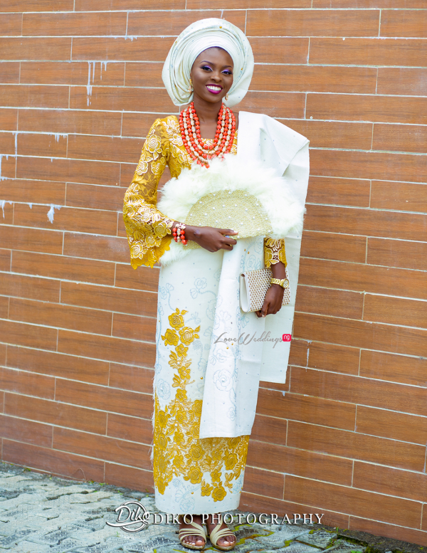 Nigerian Traditional Bride Tope and Dami Diko Photography LoveweddingsNG 1