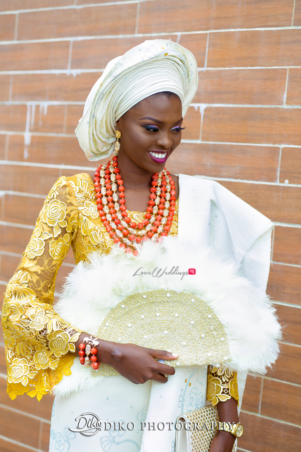 Nigerian Traditional Bride Tope and Dami Diko Photography LoveweddingsNG 2
