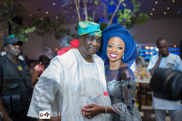 Nigerian Traditional Bride and Father Kunbi Oyelese Lanre Tomori LoveweddingsNG 1