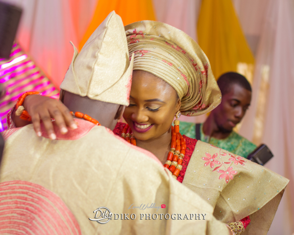 Nigerian Traditional Bride and Groom Adefunke & Adebola Diko Photography LoveweddingsNG 1