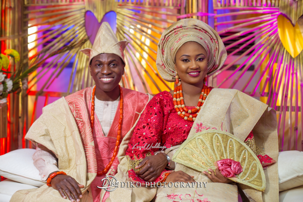 Nigerian Traditional Bride and Groom Adefunke & Adebola Diko Photography LoveweddingsNG 2