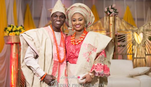 Nigerian Traditional Bride and Groom Adefunke & Adebola Diko Photography LoveweddingsNG 6