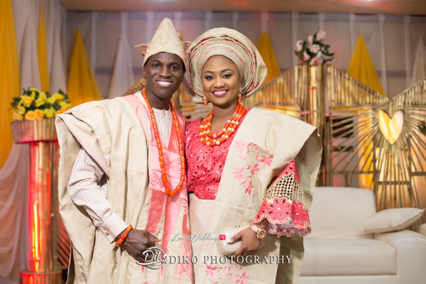Nigerian Traditional Bride and Groom Adefunke & Adebola Diko Photography LoveweddingsNG 6