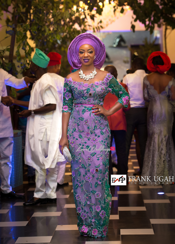 Nigerian Traditional Bride and Groom Kunbi Oyelese Lanre Tomori Second Outfit LoveweddingsNG 1