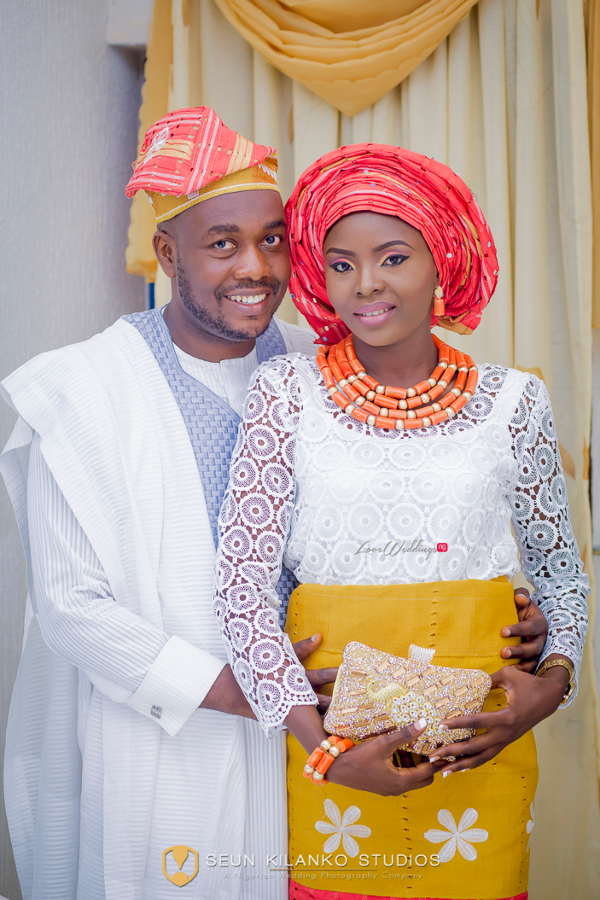 Nigerian Traditional Bride and Groom Seun and Tosin Seun Kilanko Studios LoveweddingsNG 1
