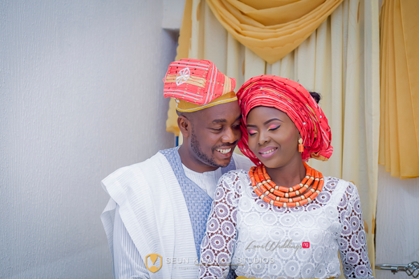 Nigerian Traditional Bride and Groom Seun and Tosin Seun Kilanko Studios LoveweddingsNG