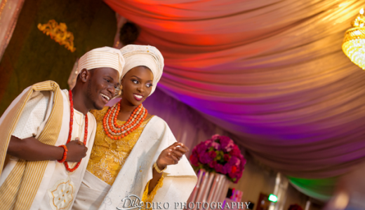 Nigerian Traditional Bride and Groom Tope and Dami Diko Photography LoveweddingsNG