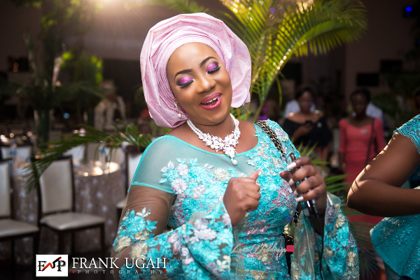 Nigerian Traditional Bride's sister Kunbi Oyelese Lanre Tomori LoveweddingsNG