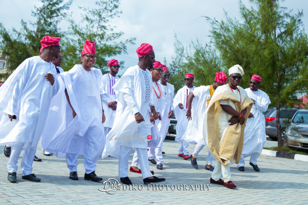 Nigerian Traditional Groom and Groomsmen Tope and Dami Diko Photography LoveweddingsNG 2