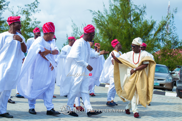 Nigerian Traditional Groom and Groomsmen Tope and Dami Diko Photography LoveweddingsNG 4